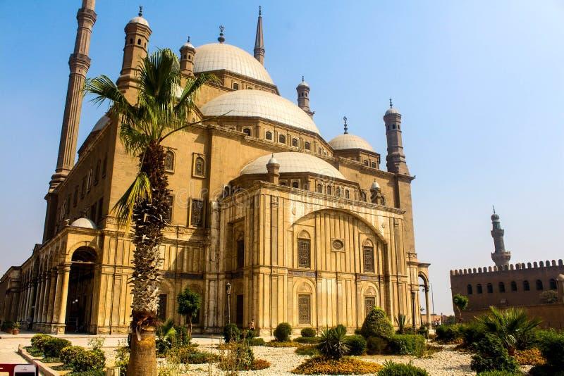 La grande moschea di Mohammed Ali fotografie stock libere da diritti