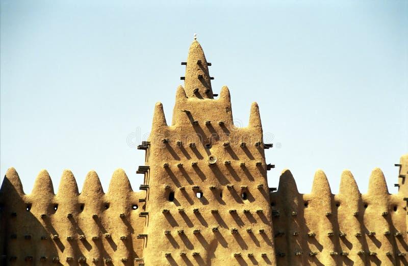 La grande moschea, Djenne, Mali fotografia stock libera da diritti