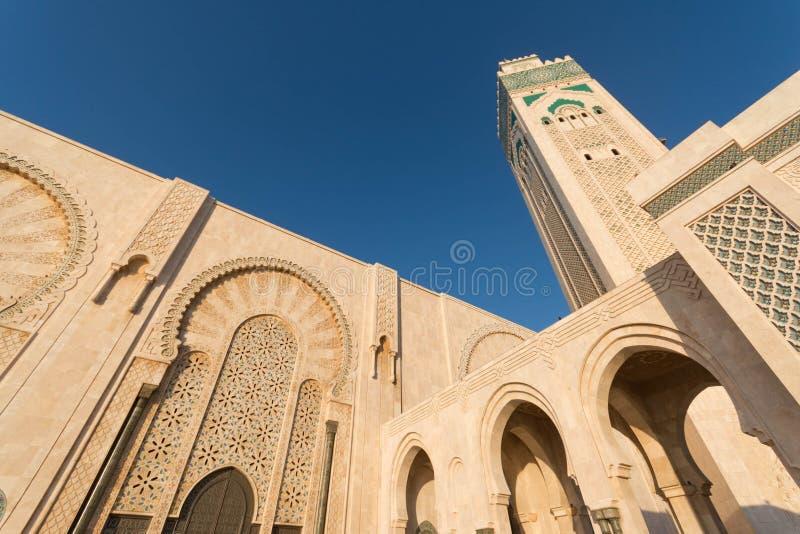 La grande mosquée de Hassan II à Casablanca, Maroc photo libre de droits
