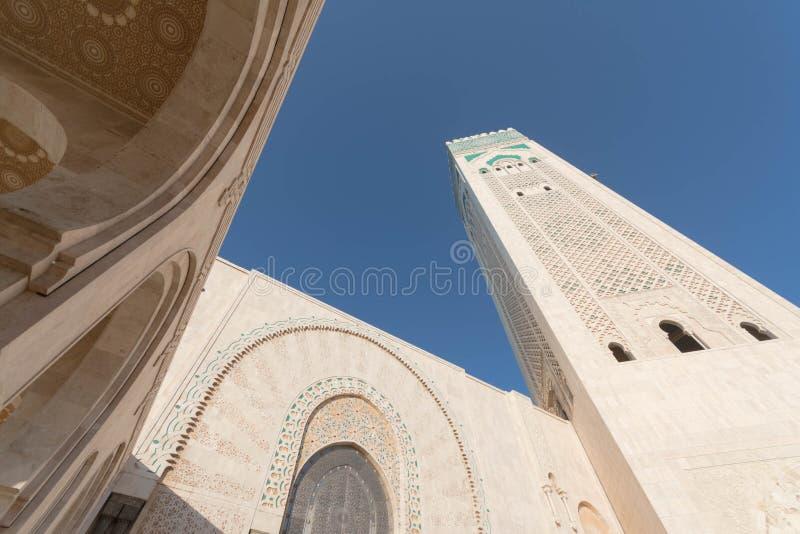 La grande mosquée de Hassan II à Casablanca, Maroc photos libres de droits