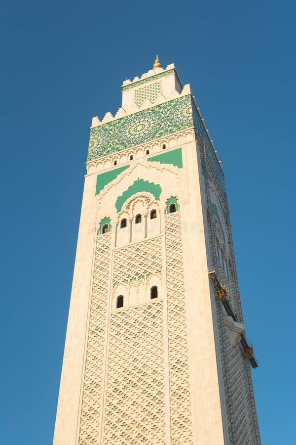 La grande mosquée de Hassan II à Casablanca, Maroc photographie stock
