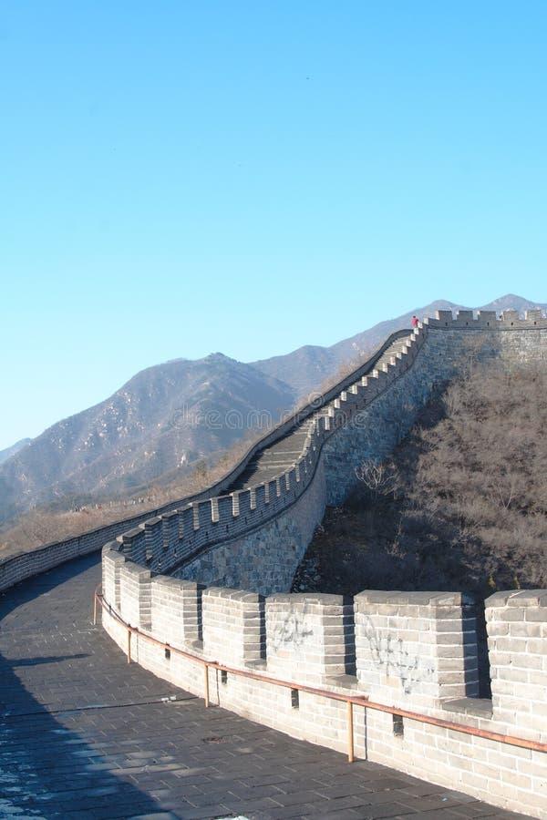 La Grande Muraglia immagine stock libera da diritti