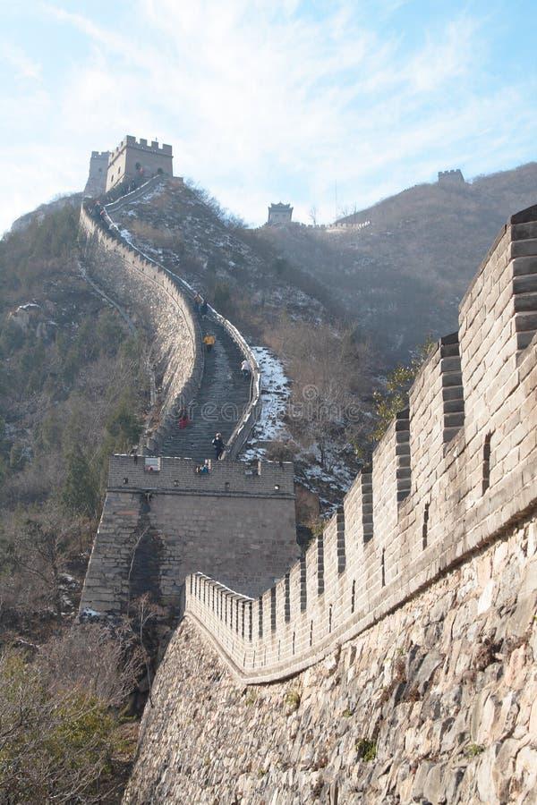 La Grande Muraglia immagine stock
