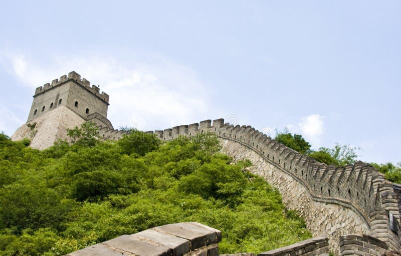 La Grande Muraglia della Cina fotografia stock libera da diritti