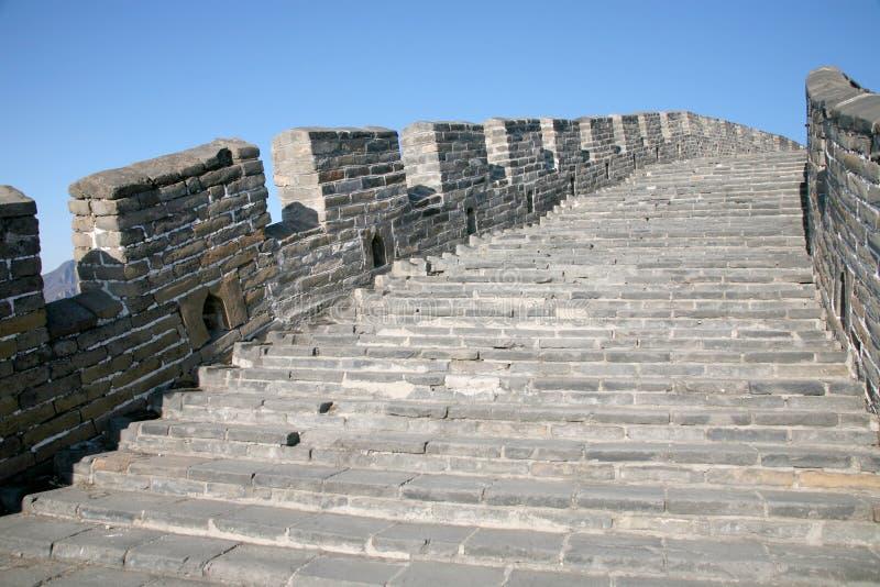 La Grande Muraglia della Cina immagini stock libere da diritti
