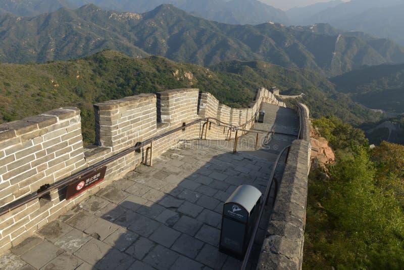 La grande muraglia della Cina immagine stock