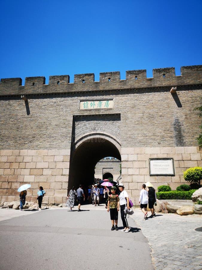 """La Grande Muraille dans l'é de """"de çš de ½ de› de Chinaä¸å•åŸŽ de ¿ images libres de droits"""