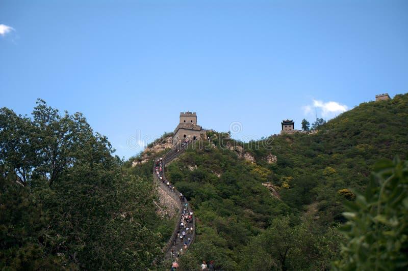 La Grande Muraille, Juyongguan, Chine image libre de droits