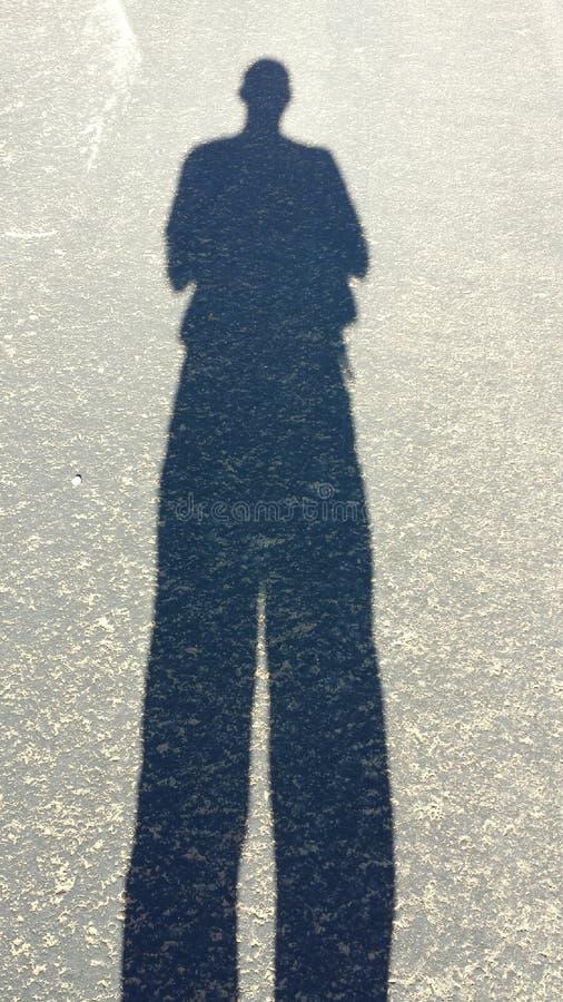 La grande ombra immagine stock