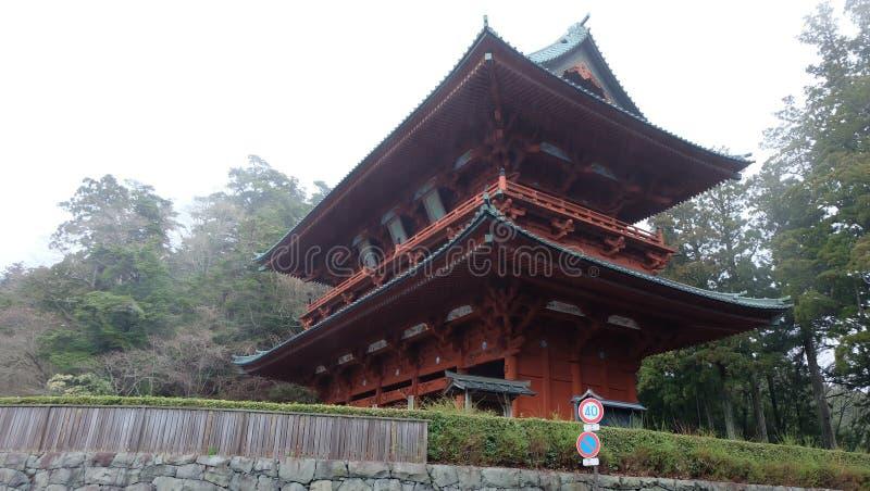 La grande porte Koyasan de démon images stock
