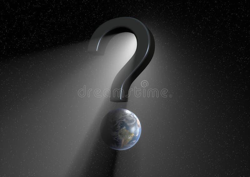 La grande question illustration stock