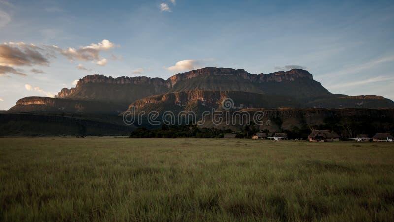 La grande savane, Venezuela image libre de droits