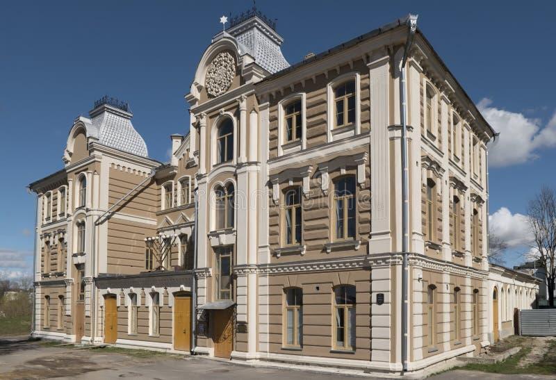 La grande sinagoga di Hrodna fotografia stock libera da diritti
