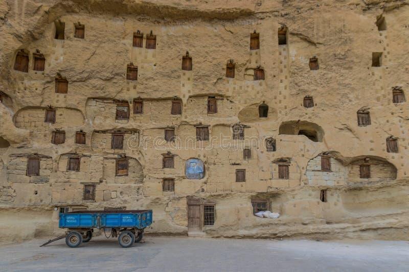 La grange étonnante de roche de Taskale, Turquie images libres de droits