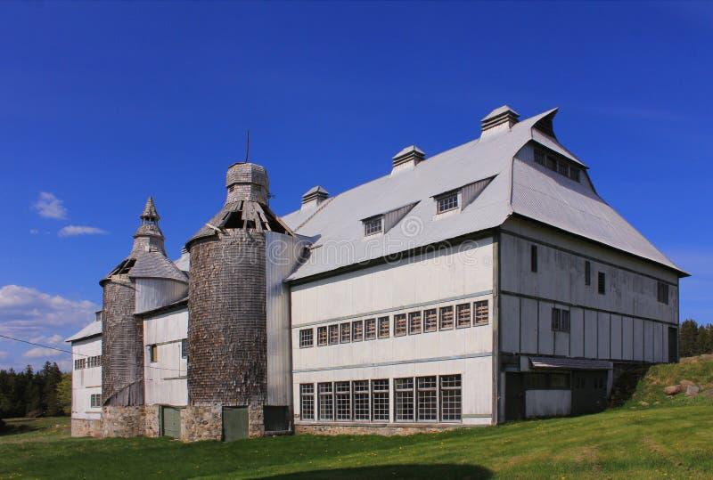La grange historique, ministres île, Saint Andrews, Nouveau Brunswick image stock