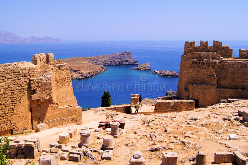 Download La Grecia antica fotografia stock. Immagine di panoramico - 30829342
