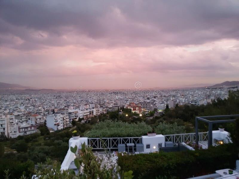 La Grecia Atene fotografie stock libere da diritti