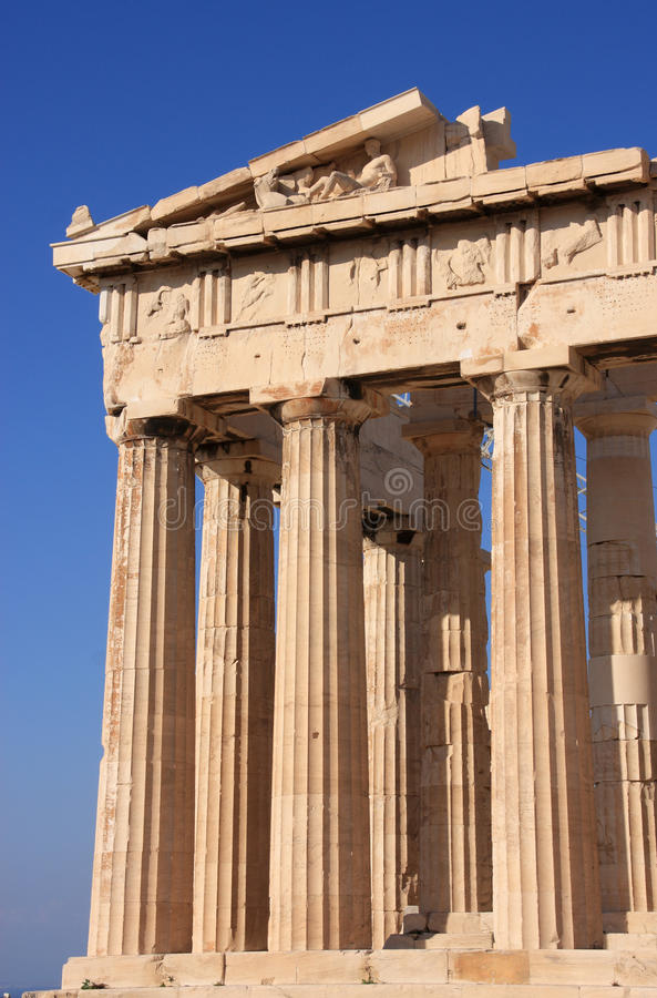 La Grecia Atene il Parthenon immagini stock libere da diritti
