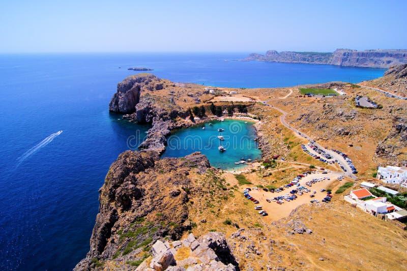 Download La Grecia costiera immagine stock. Immagine di paesaggio - 30829309