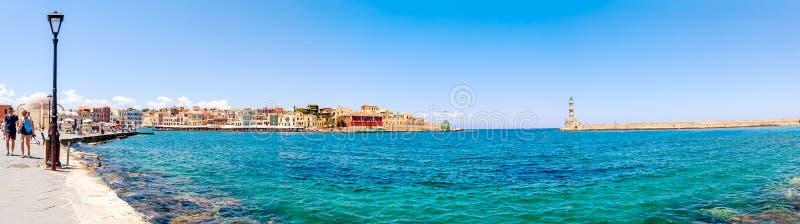 La Grecia, Creta, Chania fotografia stock libera da diritti