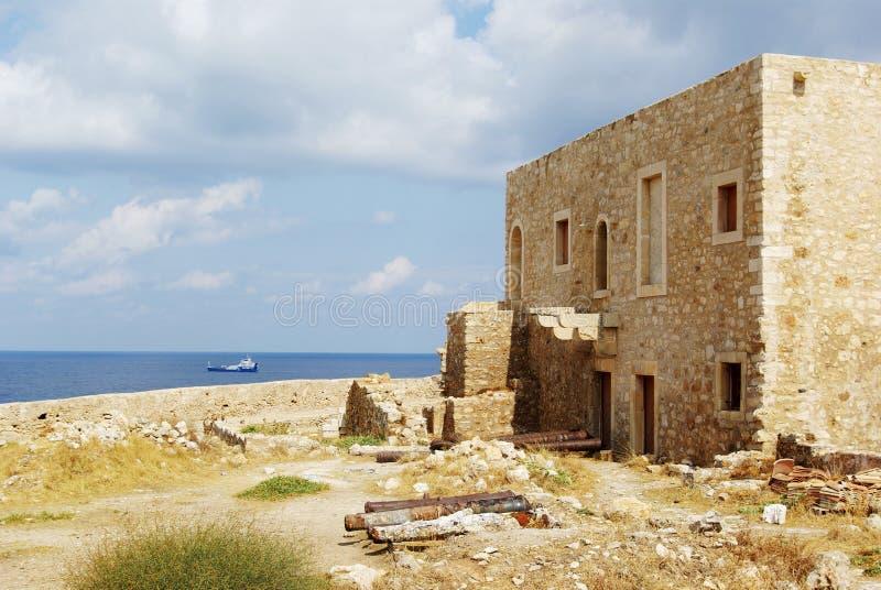 La Grecia, Crete, Retimno. fotografia stock libera da diritti