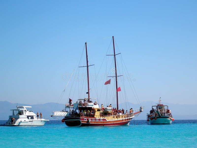 La Grecia idillica, Anti-Paxos, Grecia fotografie stock libere da diritti