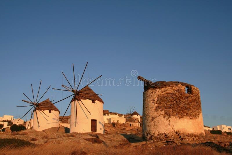 La Grecia, IOS fotografie stock libere da diritti
