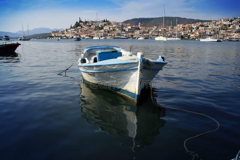 La Grecia, isola di Poros fotografia stock