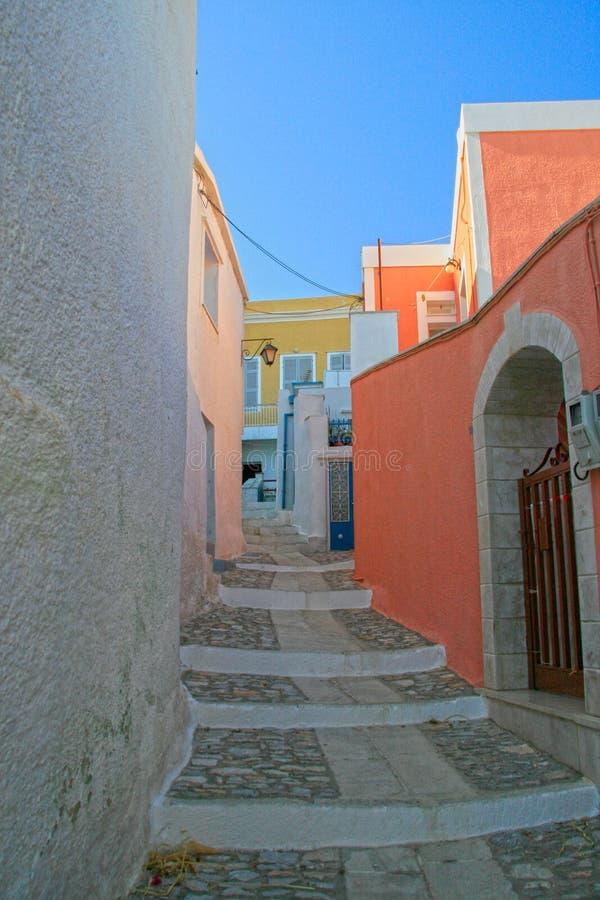 La Grecia, isola di Syros fotografie stock