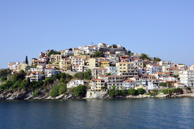 La Grecia, Kavala fotografie stock libere da diritti