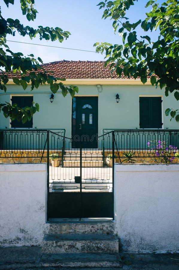 La Grecia - Kefalonia - villaggio pacifico 2 fotografie stock