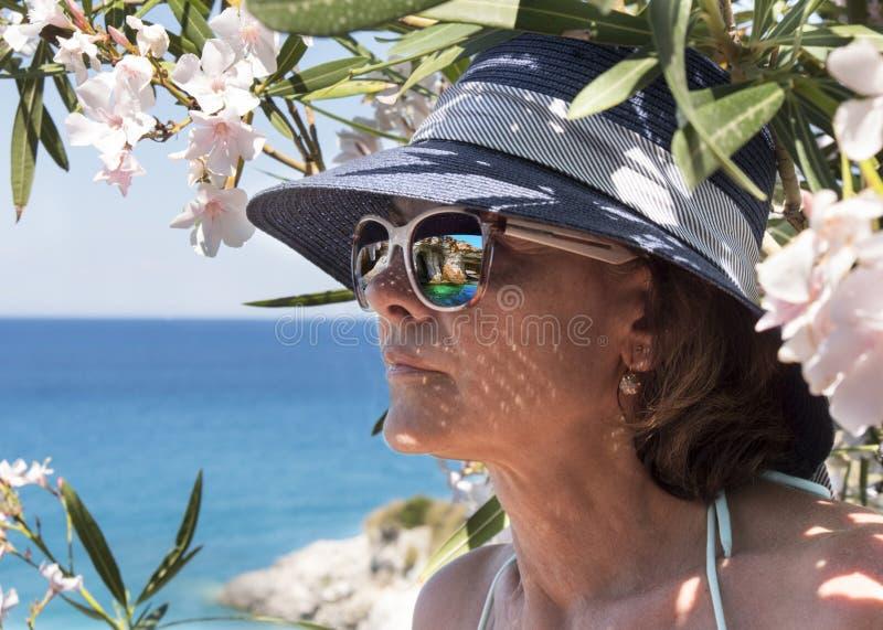 La Grecia L'isola di Zacinto, il Mar Ionio fotografia stock libera da diritti