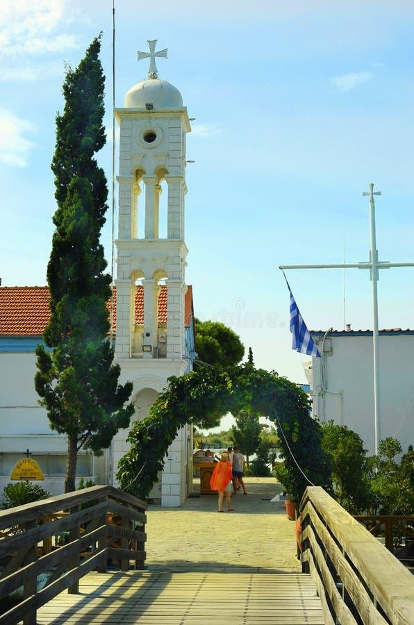 La Grecia, Oporto Lagos immagine stock libera da diritti