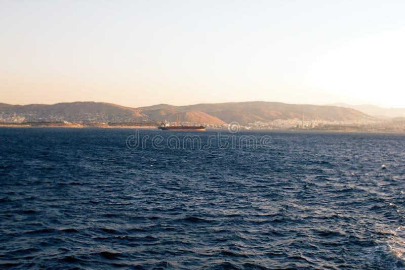 La Grecia, porto regione di Pireo, Atene immagine stock libera da diritti