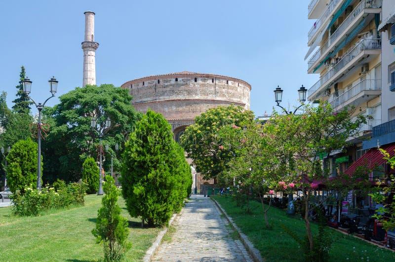 La Grecia, Salonicco, la tomba di Roman Emperor Galerius (Ro fotografie stock libere da diritti