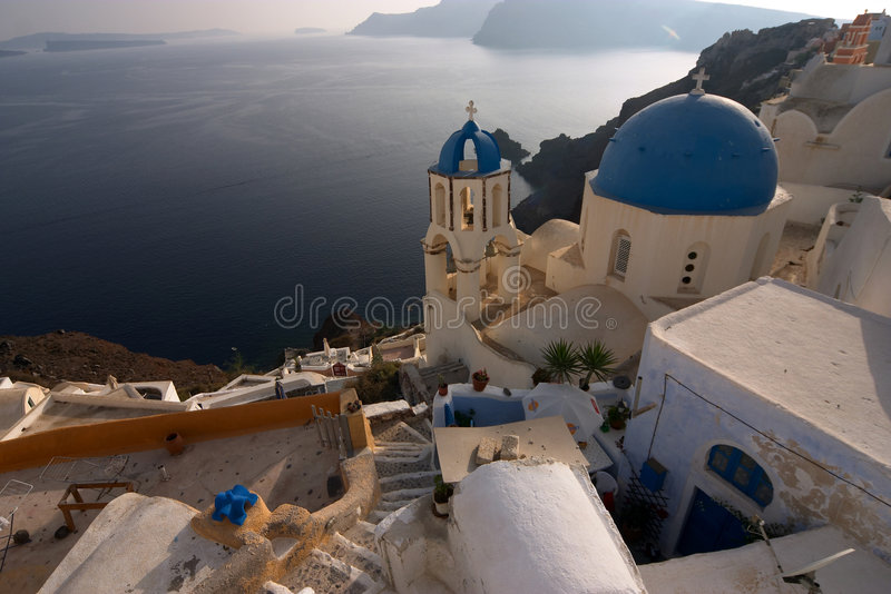 La Grecia, Santorini fotografia stock