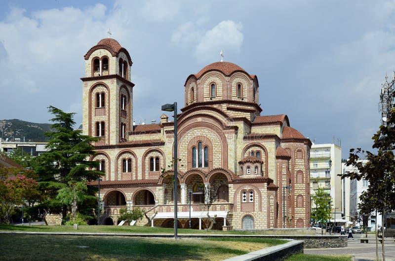 La Grecia, Xanthi fotografia stock