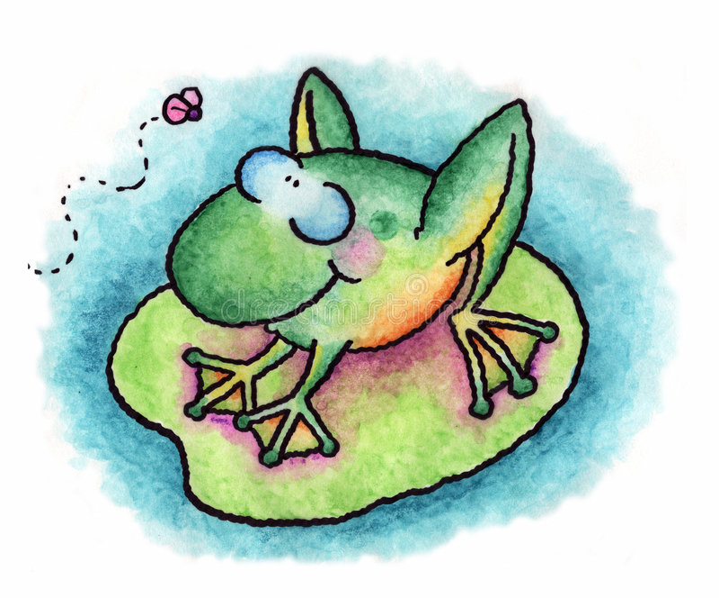 La grenouille images stock