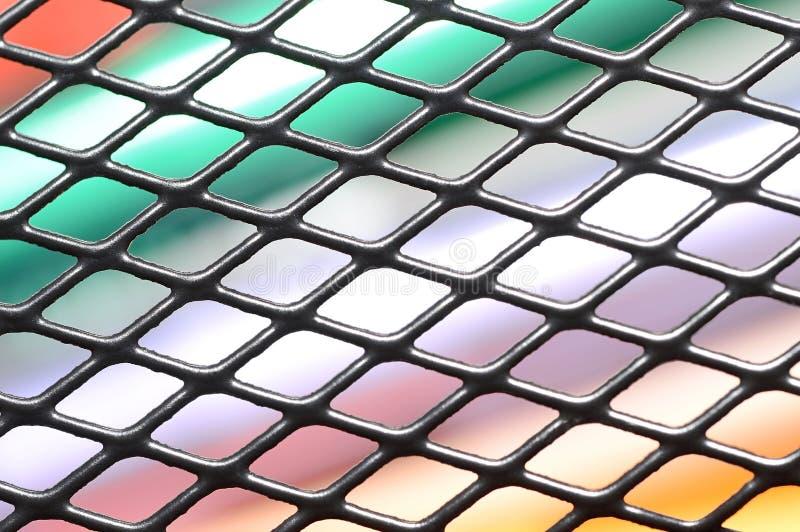 La grille noire image stock