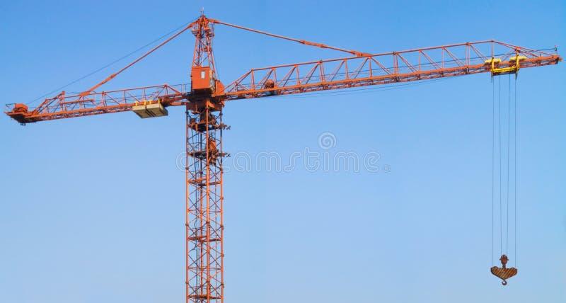 La gru a torre fotografia stock libera da diritti