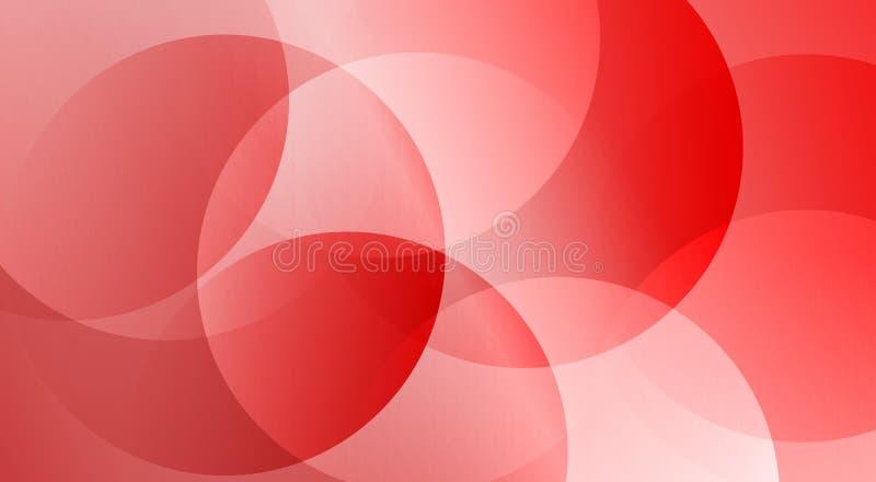 La guarnición abstracta roja vertió el papel pintado del fondo de 3 d libre illustration