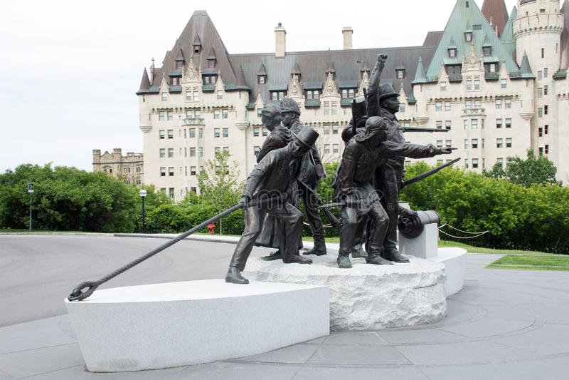 La guerra del monumento 1812 2 fotografia stock libera da diritti