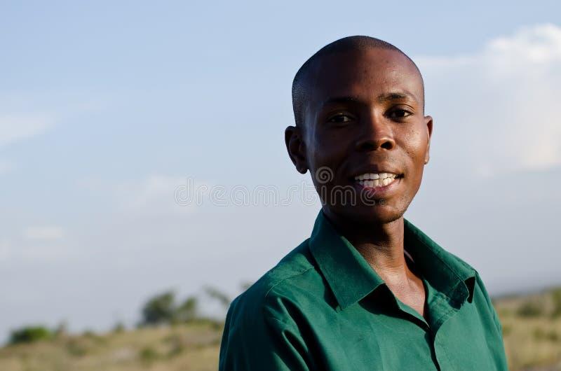 La guida di safari fotografia stock