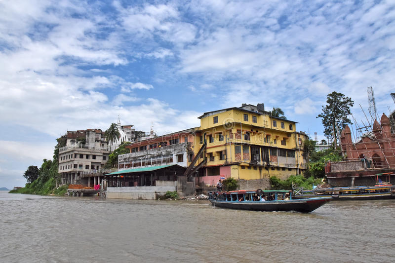 La Guwahati-India imagen de archivo libre de regalías