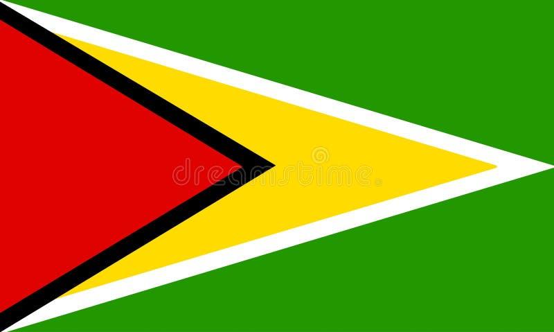 La Guyana illustrazione vettoriale
