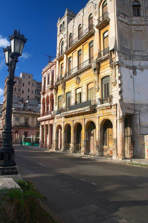 La Habana céntrica fotografía de archivo