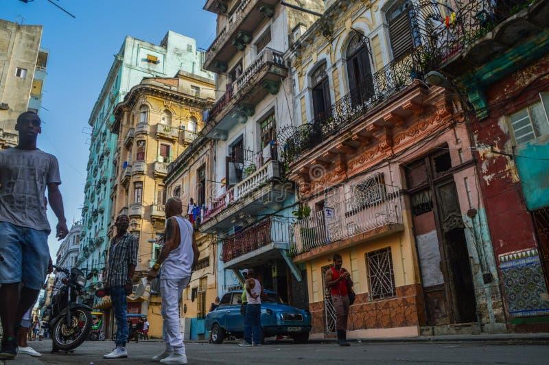 La Habana Straßen stockbild