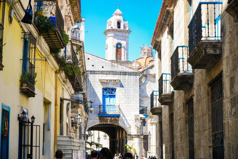 La Habana vieja mítica imagen de archivo libre de regalías