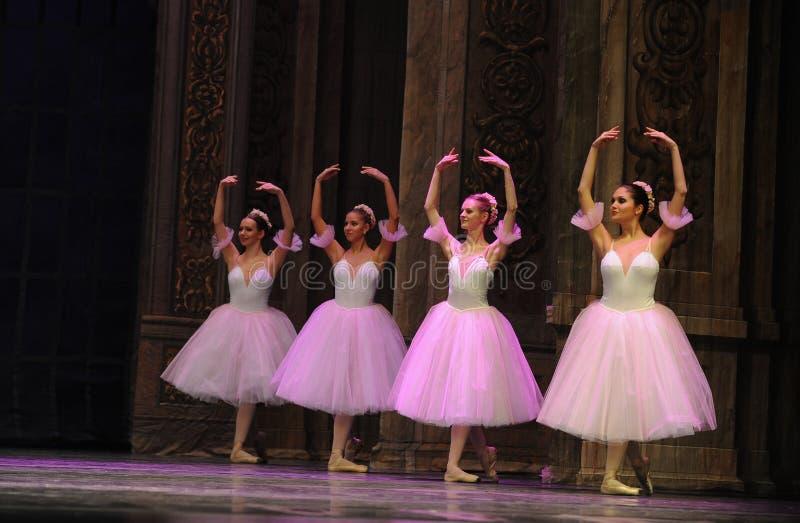 La hada del copo de nieve - el cascanueces del ballet imágenes de archivo libres de regalías