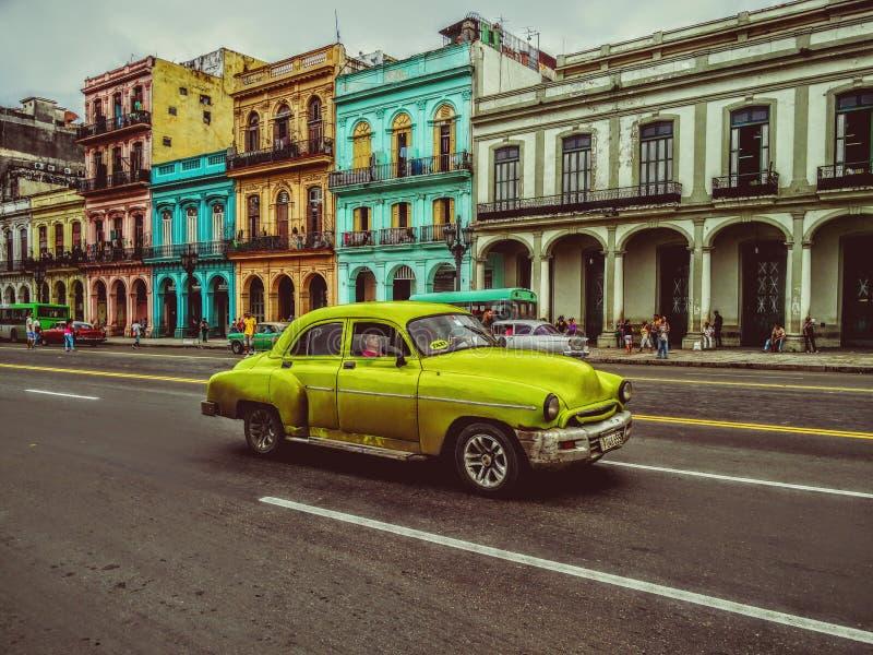 La Havane jaune photo libre de droits